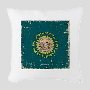 SD Vintage Woven Throw Pillow