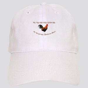 Crazy Chicken Lady Baseball Cap