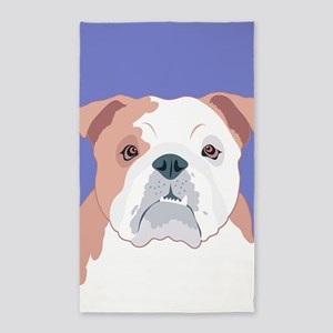 Bulldog Area Rug