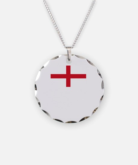 Flag And Name Necklace