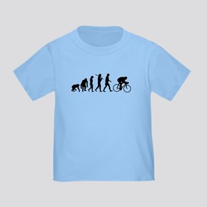Cycling Evolution Toddler T-Shirt