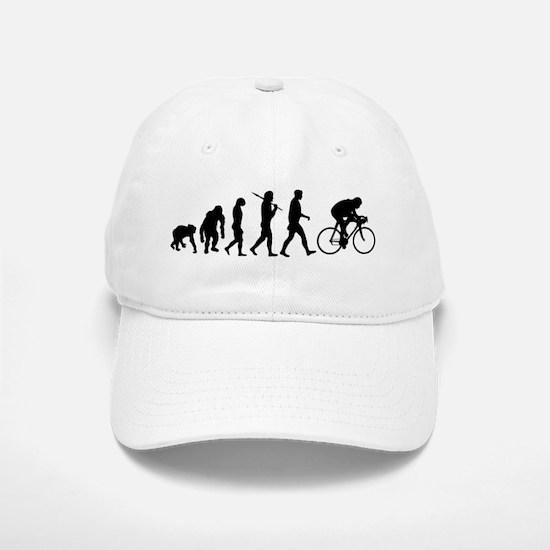 Cycling Evolution Baseball Baseball Cap
