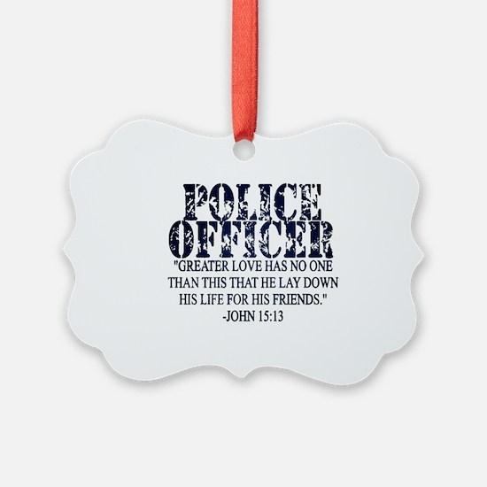Unique Law enforcement Ornament