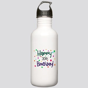 Happy 30th Birthday Water Bottle