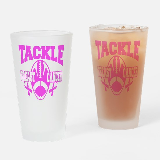 Cute Fight breast cancer research Drinking Glass
