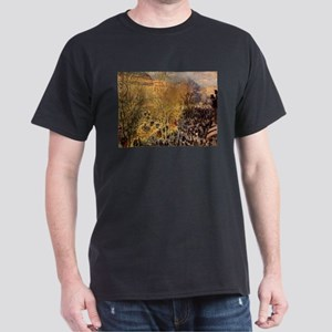 Boulevard des Capucines by Claude Monet T-Shirt