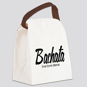 Bachata Live Love Dance Canvas Lunch Bag