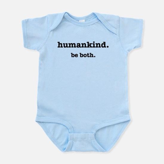 HumanKind. Be Both Infant Bodysuit