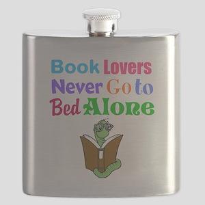 Bookworm Lovers Flask