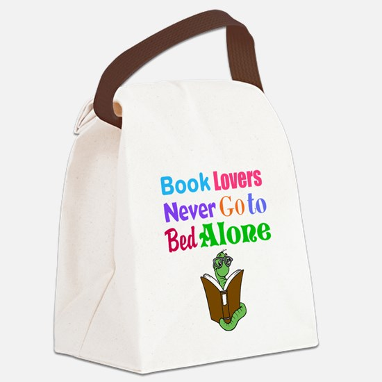 Bookworm Lovers Canvas Lunch Bag