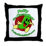 Poffy-001-Run-Cafepress Throw Pillow