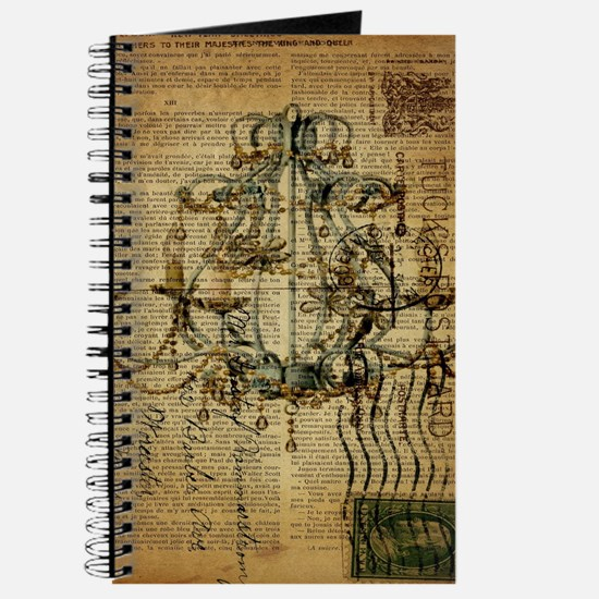 french scripts vintage chandelier Journal