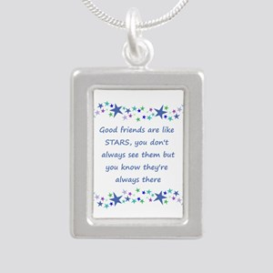 Good Friends Are Like Stars Necklaces