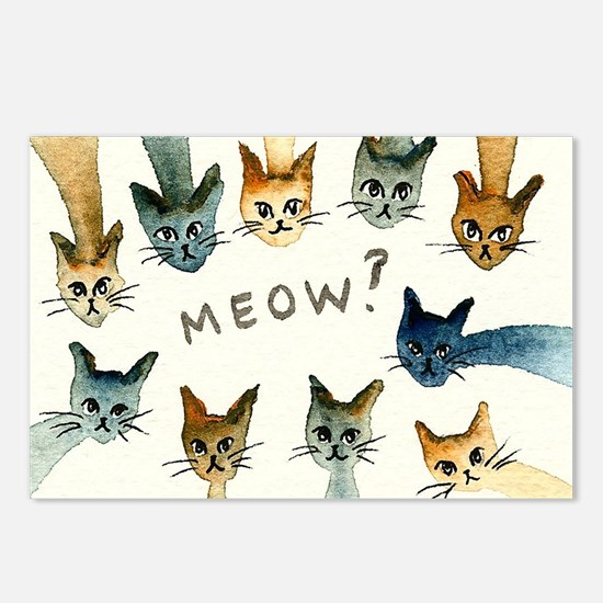 Chattanooga Stray Cats Postcards (Package of 8)