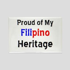 filipino heritage Rectangle Magnet