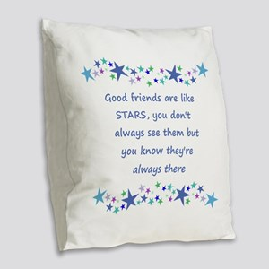 Good Friends are like Stars Inspirational Quote Bu