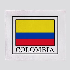 Colombia Throw Blanket