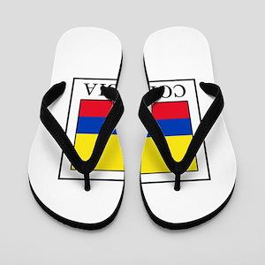 Colombia Flip Flops