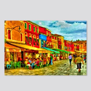 Italy Street Scene Postcards (Package of 8)