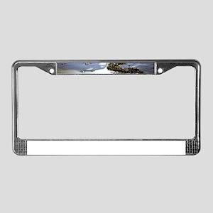 Bright Beach License Plate Frame