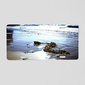 Bright Beach Aluminum License Plate