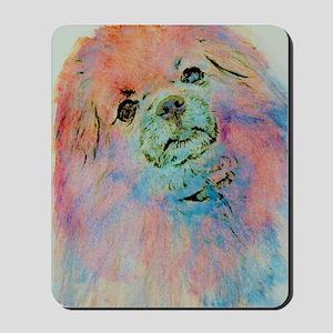 Watercolor Tibbie Mousepad