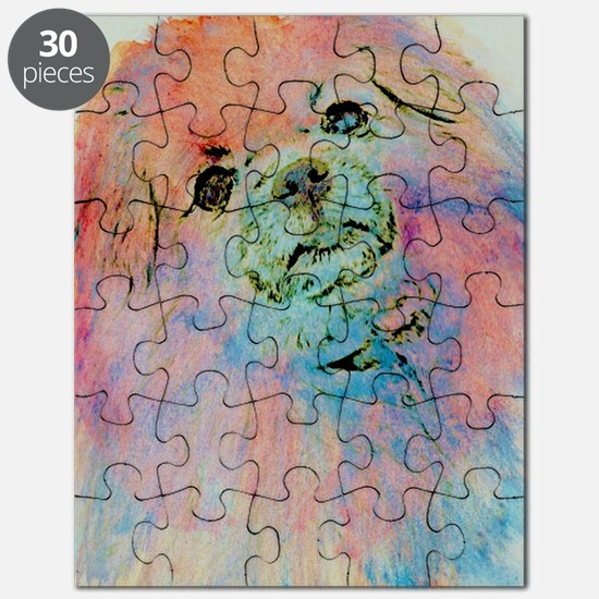 Watercolor Tibbie Puzzle