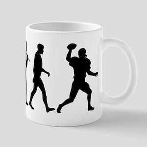 Evolution of Football 11 oz Ceramic Mug