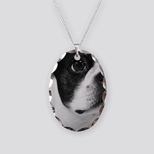 Sweet Boston Necklace Oval Charm