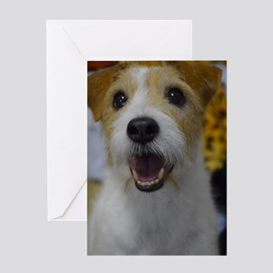 Busy Bouncing Greeting Card