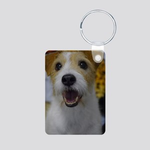 Busy Bouncing Aluminum Photo Keychain