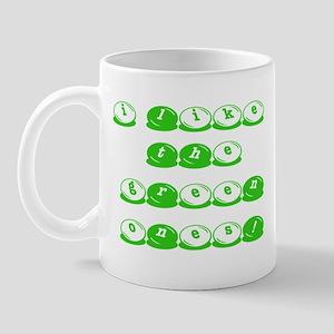 Green M&M's Mug