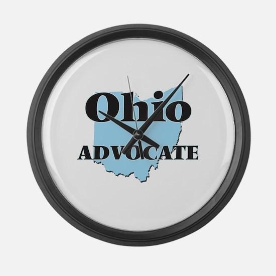 Ohio Advocate Large Wall Clock