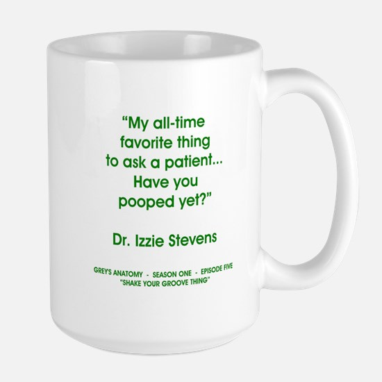HAVE YOU POOPED YET? Large Mug