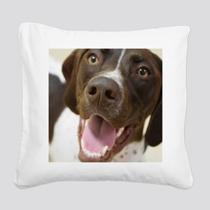 Happy Day! Square Canvas Pillow