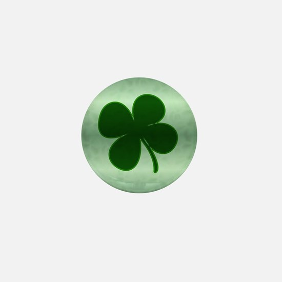 4 Leaf Clover Mini Button