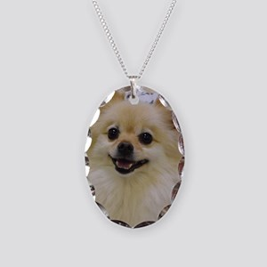 Sweet lil Lady Necklace Oval Charm