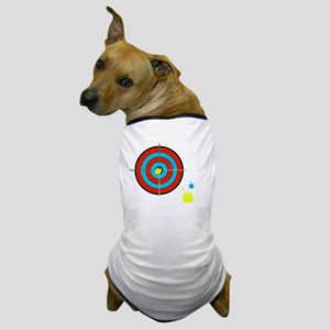 bullseye paintball Dog T-Shirt