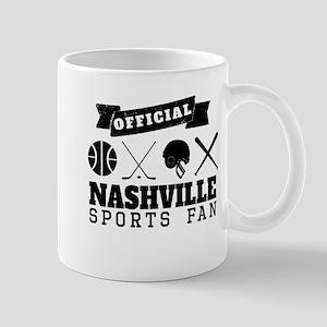 Official Nashville Sports Fan Mugs
