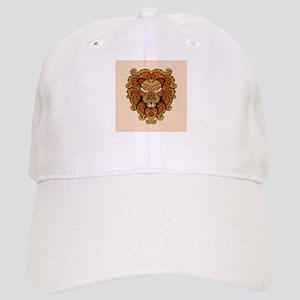 Abstract Lion Head Cap