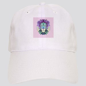 Triangle Colorful Lion Head Cap