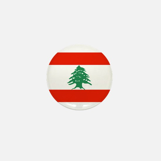 Flag of Lebanon Mini Button