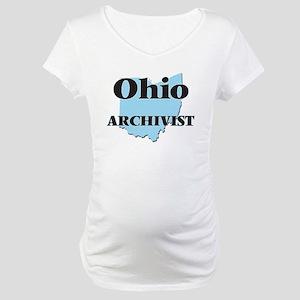 Ohio Archivist Maternity T-Shirt