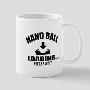 Hand Ball Loading Please Wait 11 oz Ceramic Mug