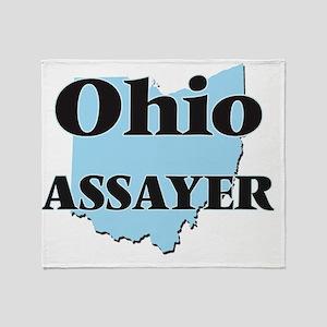 Ohio Assayer Throw Blanket