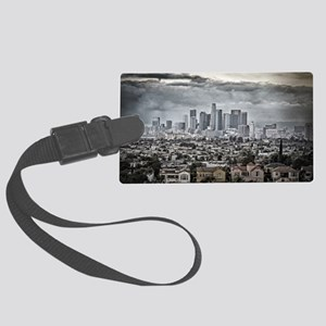Los Angeles, East View Large Luggage Tag