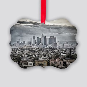 Los Angeles, East View Picture Ornament