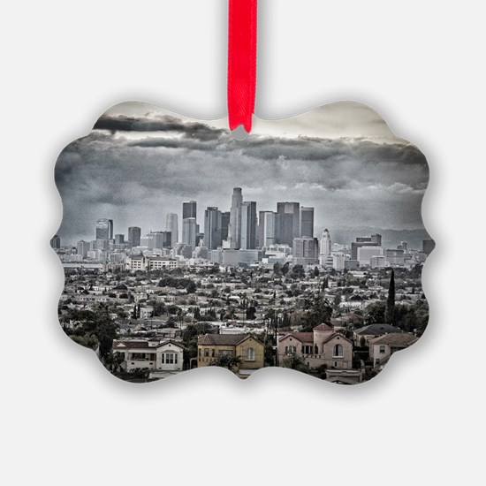Los Angeles, East View Ornament