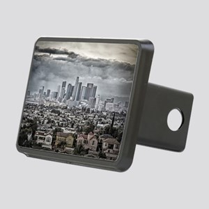 Los Angeles, East View Rectangular Hitch Cover