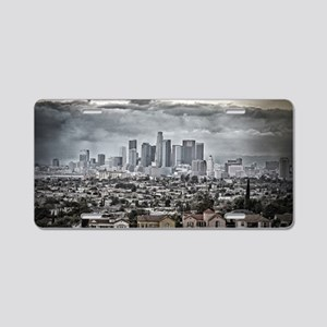 Los Angeles, East View Aluminum License Plate